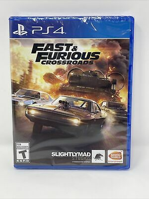 PS4 Fast & Furious Crossroads (Sony PlayStation 4) Brand New Factory Sealed