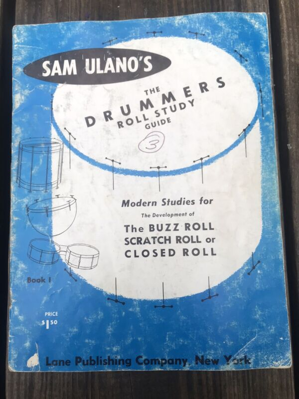 Sam Ulano's The Drummers Roll Study Guide Drum Book (Vintage)
