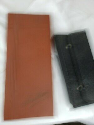 Two cases - one for neckties, another unclear purpose both ca. 1930s