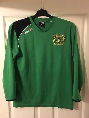 2014/2015 Yeovil Town home goalkeeper football shirt rare small men's Macron image