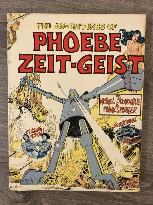Adventures of Phoebe Zeit Geist Springer Hardcover First Edition