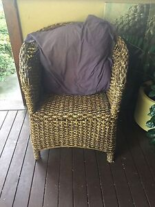 Wicker Outdoor Chair Nundah Brisbane North East Preview
