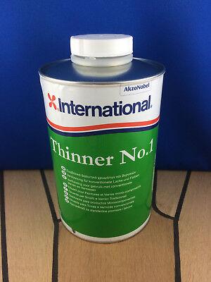 International Verdünner Nr.1 Thinner No.1 für 1-K International Farben 1Liter