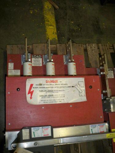 Qa1233b 1200a 3p 480v Pringle Switch (red) Used Eok