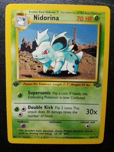 Nidorina 55//181 REVERSE HOLO Holofoil NM-Mint Card Pokemon Team Up Sun /& Moon