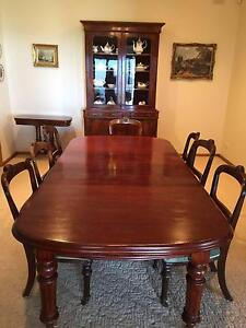 Dining Table Rare Red Cuban Mahogany Aldgate Adelaide Hills Preview