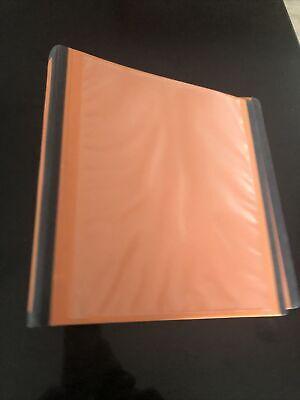 Staples 2 3-ring Better Binder Bright Orange 13469