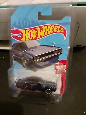 2018 Hot Wheels SUPER TREASURE HUNT Blue Nissan Skyline 2000 GT-R Factory Sealed