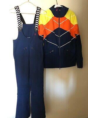 Womens Perfect Moment GT Dark Navy Blue Jacket M & Pants S