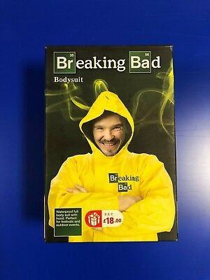 Breaking Bad Waterproof All In One Body Suit Yellow Rain Fancy Dress Party - Breaking Bad Kostüm Party