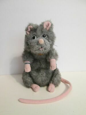 Animated Halloween Movies 2000 (Gund Harry Potter Scabbers Ron's Pet Rat Mouse 7