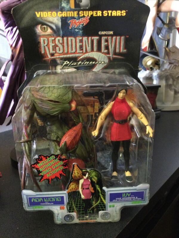 Resident Evil 2 Platinum Ada Wong & Ivy Action Figure Set Capcom ToyBiz NEW.