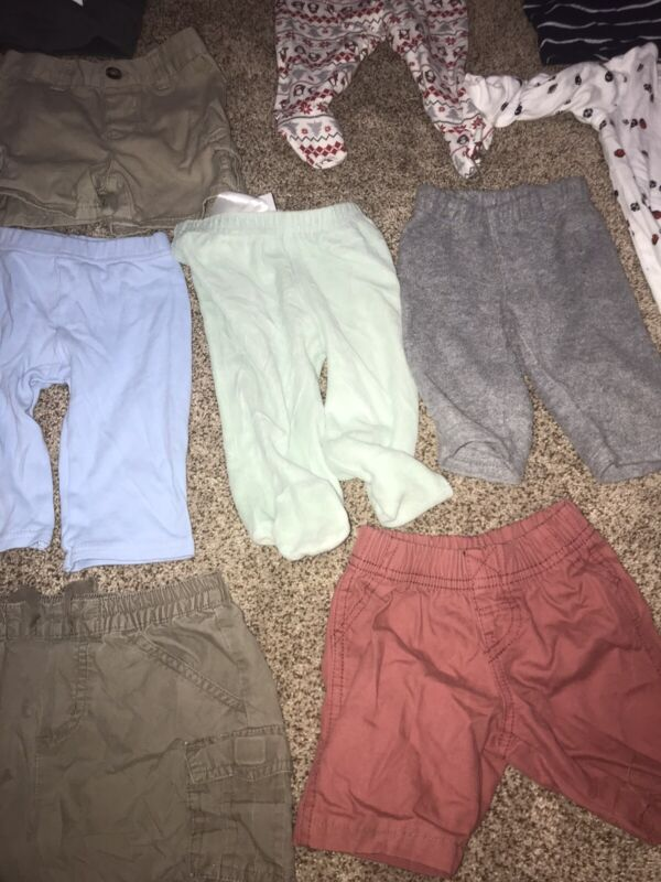Baby Boy Clothes Lot 3-6 Months 19 Pieces In Good Condition