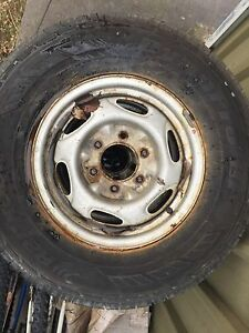 4 x Wheels and Tyres to suit ford courier Singleton Singleton Area Preview