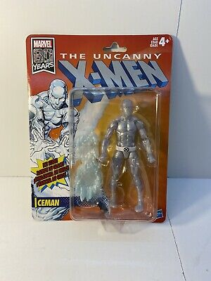 "ICEMAN Marvel Legends Uncanny X-Men 80 Years Retro Vintage Line 6"" Figure 2019"
