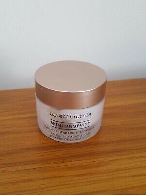 bareMinerals Skinlongevity Long Life Herb Night Treatment 30g New not boxed