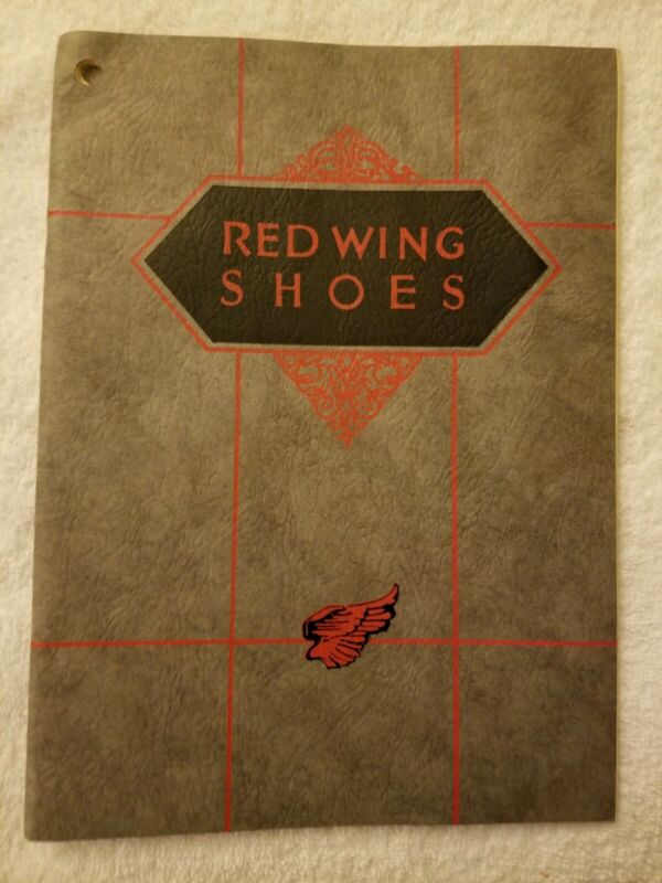 Red Wing Shoes Shoe Catalog for 1927