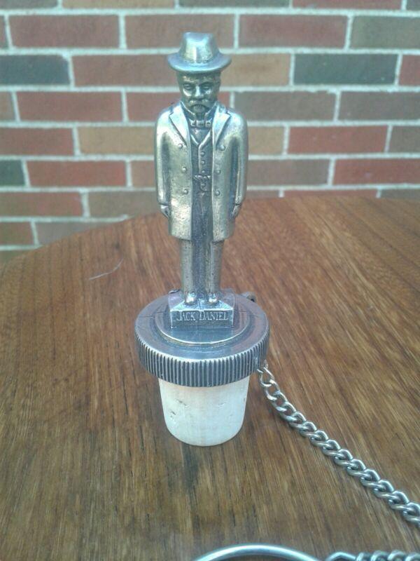Jack Daniels Pewter Cork Bottle Stopper