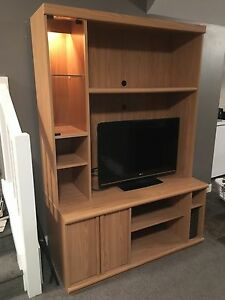 Two Piece Entertainment Stand - Excellent Condition