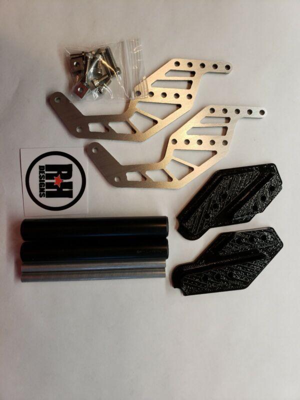 RH Designs Axial SMT-10 builders kit black Adjustable Wheelie Bar