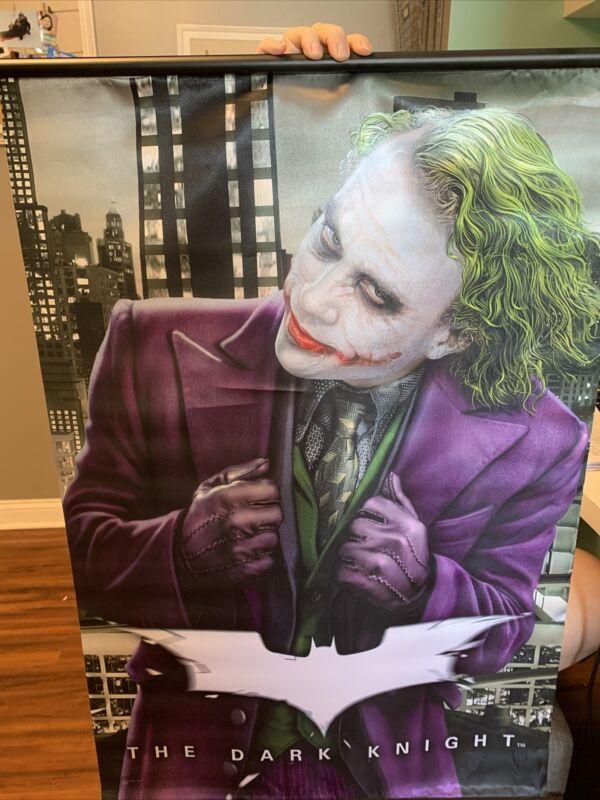 Neca Dark Knight Joker Fabric Wall Scroll