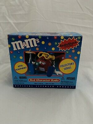 M&M's Red Character Scuba Diver Collector's Series Radio W/ Headphones New