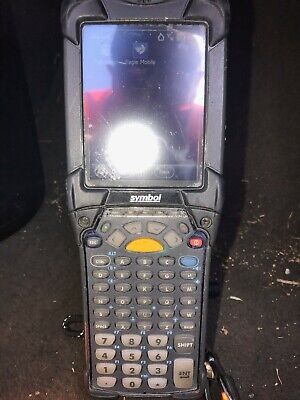 Motorola Mc92n0 Symbol Wireless Barcode Scanner