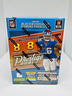 2021 Panini Prestige NFL Football Blaster Box Brand New