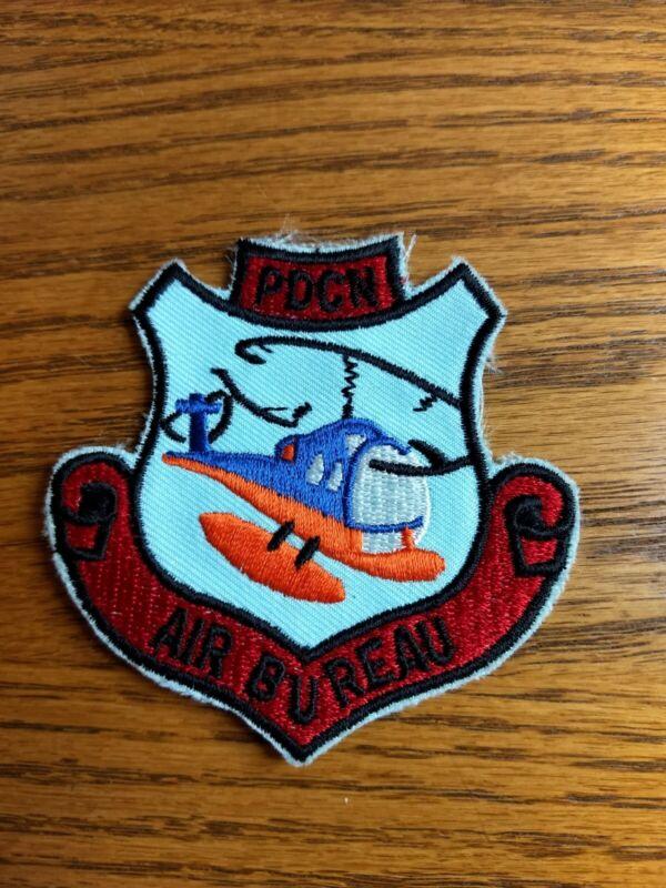 Vintage (Original 1967 design) Nassau County Police Air Bureau Patch - New/Rare