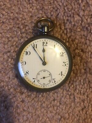 Gold Filled 1924 OMEGA Pocket Watch 14s Nice Dial Swiss Made Antique