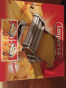 New Imperia Pasta Maker