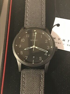 MVMT Men's Watch. Field Series. Excellent Condition. Original Packaging Included