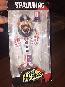 Captain Spaulding Head Knockers Bobble Head