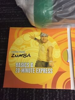 Zumba fitness DVD and weights set