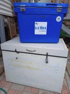 Ice box Esky 60L and large esky