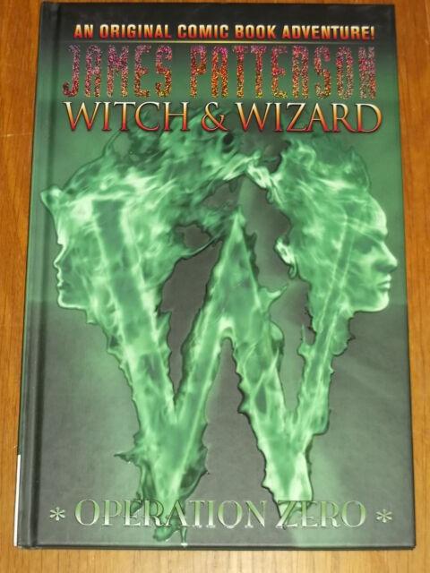 WITCH & WIZARD OPERATION ZERO VOL 2 JAMES PATTERSON IDW HARDBACK 9781600108907