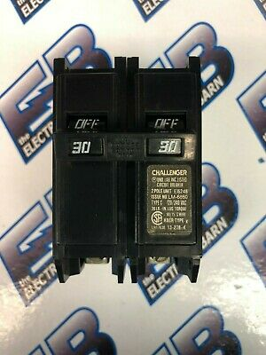 Challenger C230 30 Amp 240 Volt 2 Pole Circuit Breaker- Warranty