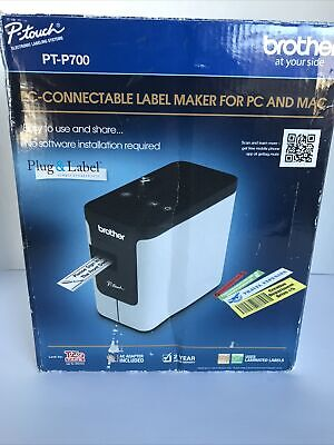 Brother Pt-p700 Pc-connectable Label Printer For Pc And Mac