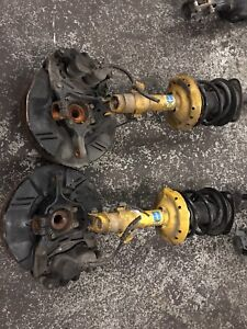 Subaru Legacy and Outback front suspension