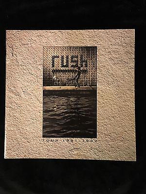 RUSH-ROLL THE BONES TOUR-CONCERT PROGRAM-GEDDY LEE-NEIL PEART-ALEX LIFESON-1991