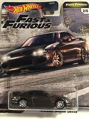 Hot Wheels Fast and Furious Nissan Silvia S-15 Fast Tuner.
