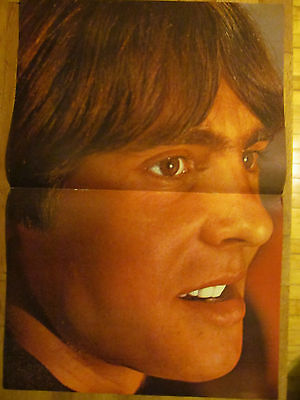 The Monkees, Davy Jones, Two Page Vintage Centerfold Poster