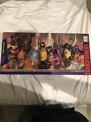 Insecticons MISB NEW Platinum Edition Generations Hasbro G1 Transformers