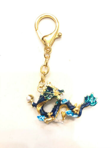2021 Feng Shui Celestial Water Dragon Amulet Keychain