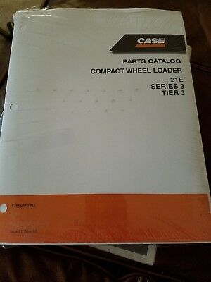 Case Parts Catalog Compact Wheel Loader 21e Series 3 Tier 3 87659812 Na 050108
