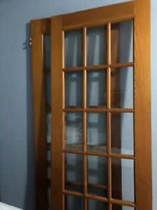 Solid Wood set of French Doors