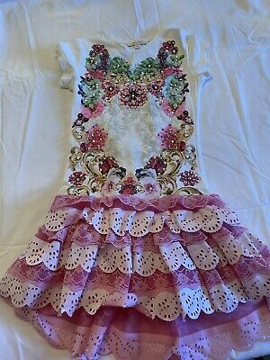 Miss Grant kids girls pretty girls dress size 34 european