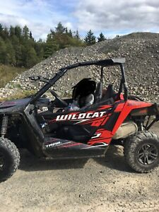 2017 Arctic Cat  wildcat 700 trail edition side by side