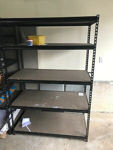 Metal shelving 20 each