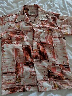 Vintage 70s Kiholo Fashions made in Hawaii colorful men's hawaiian shirt M - 70s Mens Fashion